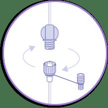 Cómo conectar sonda alimentación enteral